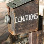 donations box photo