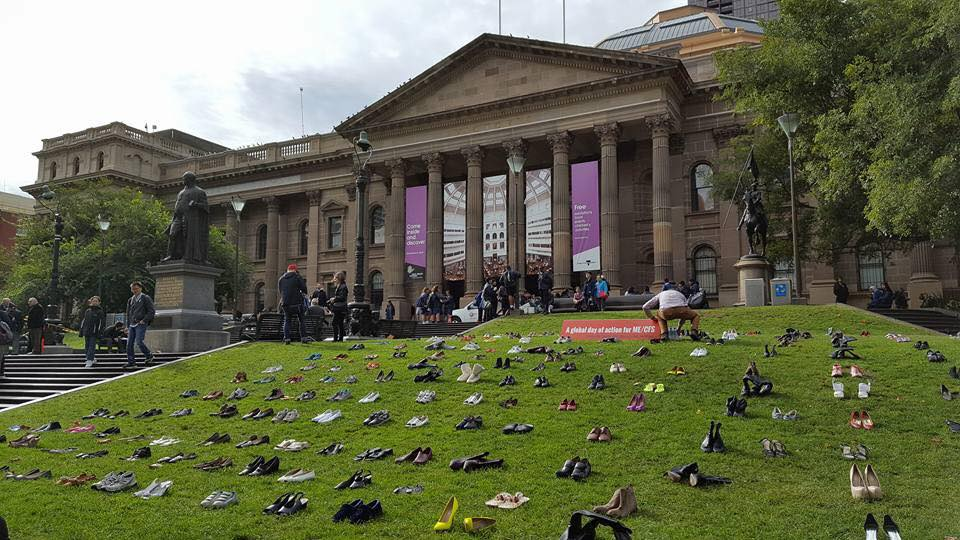 MillionsMissing holds largest ever protest for ME/CFS